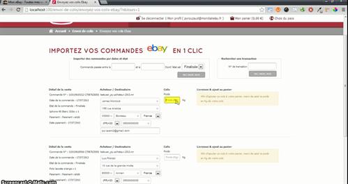 Envoi colis mondial relay ebay - Suivre mon colis mondial relay ...