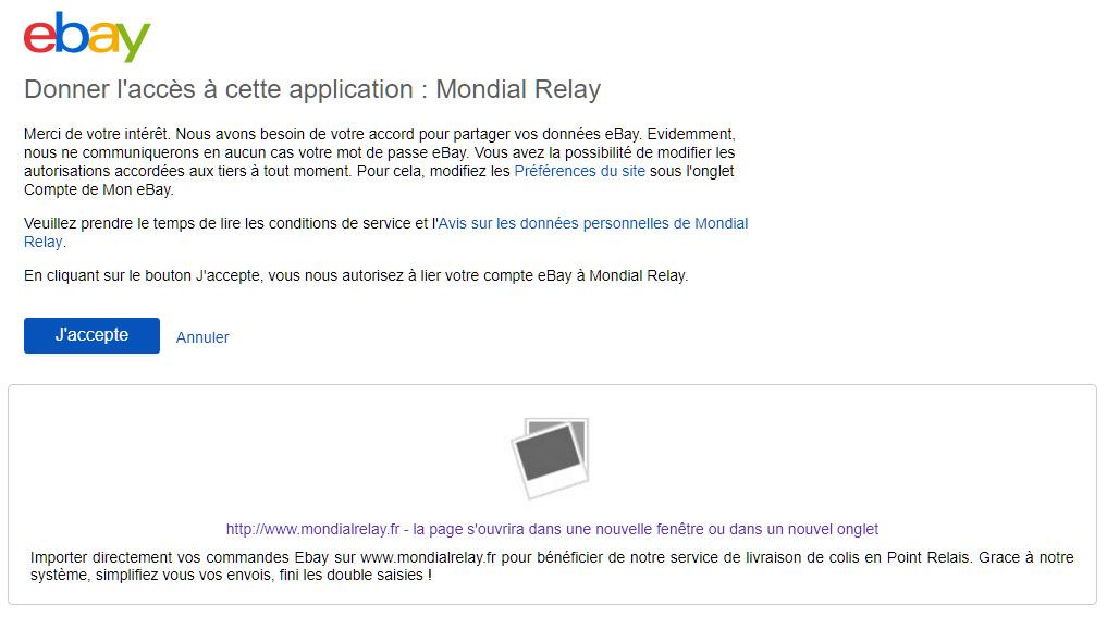 Ebay By Mondial Relay Mode D Emploi